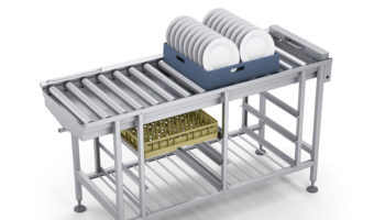 Roller Table warewashing solution