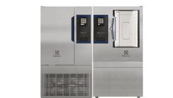 SkyDuo combi oven and blast chiller