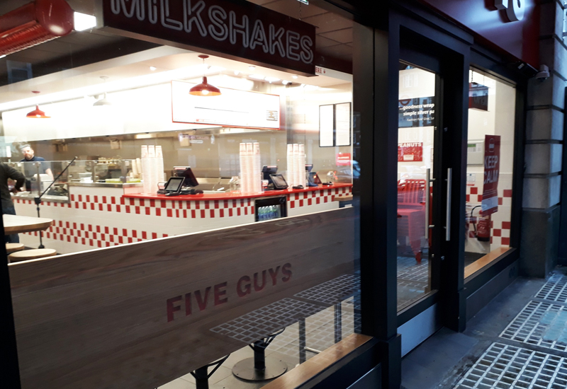 Five Guys Baker Street 1