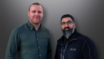Richard Goodchild, commercial director and Amjad Alikhan, managing director