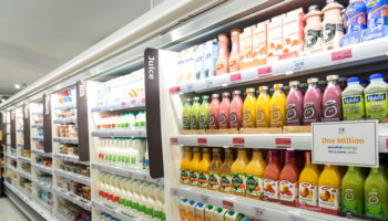 Sainsbury's Aerofoil fridge 1