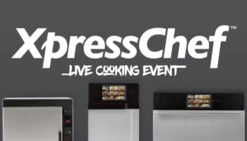 XpressChef Live Cooking Event