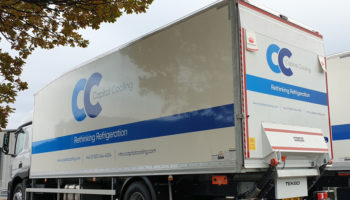 Capital Cooling lorry