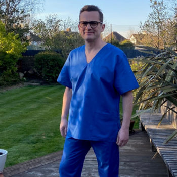Gareth Sefton, For the love of scrubs campaign