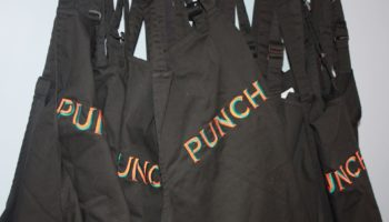 Punch Pubs aprons