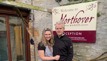 Mark Haddigan & Mel Haddigan, owners, Northover Manor