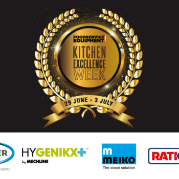 FEJ Kitchen Excellence Week with sponsors' logos